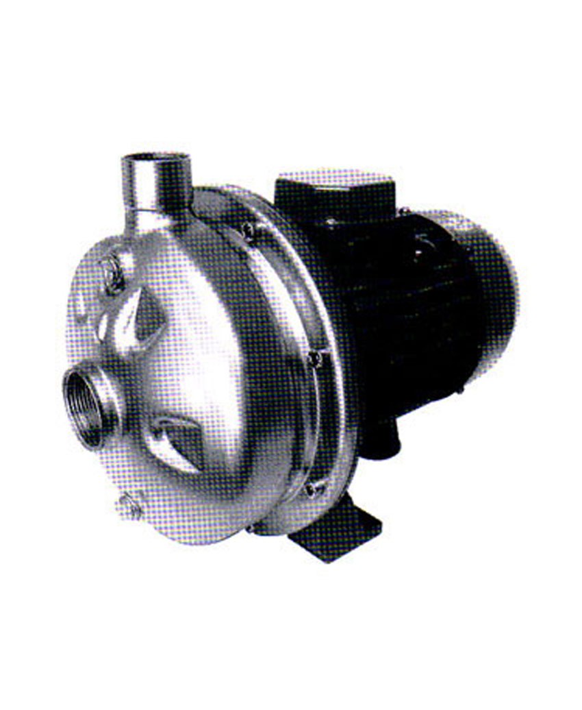 Centrifugal Pumps - Open Impeller in Aisi 304